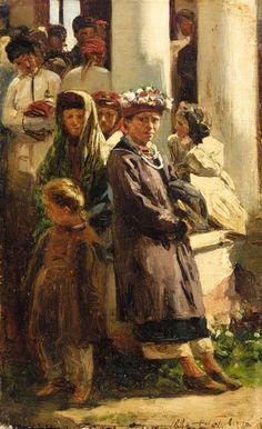 МАКОВСКИЙ ВЛАДИМИР ЕГОРОВИЧ (1846-1920).Украинские дети.