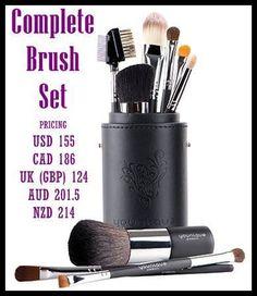 younique complete brush set