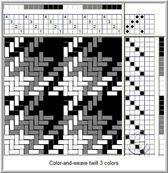 Talking about Weaving: COLOR-AND-WEAVE: THREE COLORS