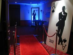 james bond party decorations | bond red crpet entrance 007 casino party hire james bond party ideas ...