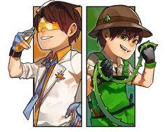(C) to owner Galaxy Movie, Anime Galaxy, Boboiboy Galaxy, Pokemon Comics, Anime Comics, Cartoon Movies, Cartoon Art, Boboiboy Anime, My Childhood Friend
