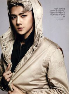 Sehun ♡ #EXO // The Celebrity Magazine