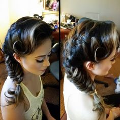 A stylish trendy hairstyle!