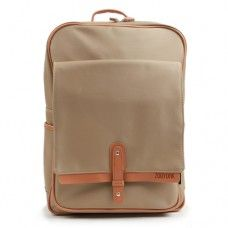 College backpack for men Laptop bag Mareart Beige 8041 (1)
