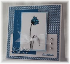 Flourishes Newsletter: Festive Flourishes Friday--I'll be so blue!
