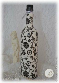 Itens de decoração Decoupage cracelures Garrafas e frascos de vidro define Guardanapos foto 2                                                                                                                                                                                 Mais