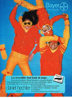 Publicite Advertising 044 1977 Daniel Hechter LES Vetements DE SKI Bayer   eBay
