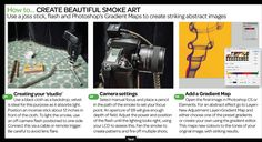 Smoke art. Picture from Digital Magazine March  2013