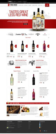 Wine House is a simple, neat and Premium eCommerce OpenCart Theme for Wine Store. This is stylish theme with wonderful background inspired ancient castles and old farms of grapes in France. The theme perfectly suits for eCommerce website at low cost.