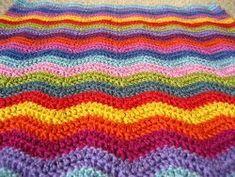 Crochet Ripple Pattern - Detailed instructions