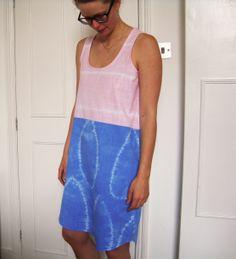 shibori wiksten dress