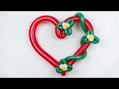 Сердце из Шаров - Оформление свадеб - YouTube