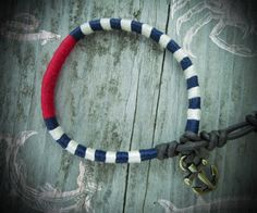 The Nautical Nuna Friendship Bracelet  In Navy by NoliePolieOlies, $17.00