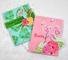Some Like it Hot Stamp Set: Papertrey Ink Clear Stamps Dies Paper Ink Kits Ribbon