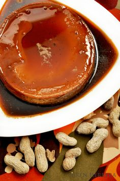 Peanut butter flan heaven.... yes, yes & yes!