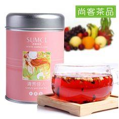 Encontre mais Chá de frutas Informações sobre estilo chinês flor fruta frutas chá chá de frutas chá da flor, de alta qualidade frutas e chá de ervas, chá China Fornecedores, Barato jogo de chá a partir de Herbal cosmetics stores: breast - Slimming - Beauty - sex em Aliexpress.com