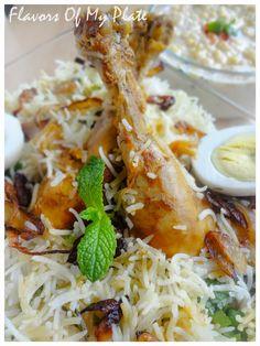 Kolkata Style Chicken Dum Biryani