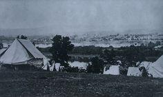 Harrisburg PA From Lemoyne Heights During The Civil War