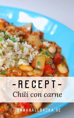 Chili con carne - recept