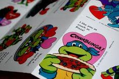 TMNT Valentines for School. . . To: From: