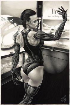 Anna Navarre - Deus Ex: Human Revolution byAype Beven