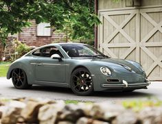 Porsche 356 Neoclassic by Sergey Barinov (based on modern 911)