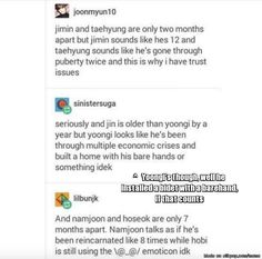 Bangtan Trust Issue.. Why do all of them have to be polar opposite? Heol!   allkpop Meme Center