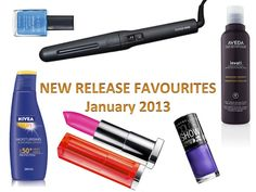 January 2013 New Release Beauty Products on ThePlasticDiaries.com