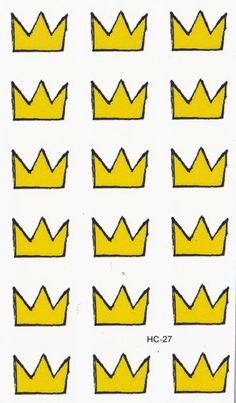 Product Information - Product Type: Set of Small Crown Temporary Tattoos Tattoo Sheet Size: 10.5cm(L)*6.5cm(W) Tattoo Application & Removal With proper care and attention, you can extend the life of a