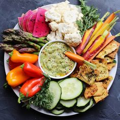 Crudité with Brothers Products