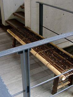 竹虎 虎竹縁台 折り畳み式 虎竹 縁台 椅子 いす ガーデンベンチ ベンチ tigerbamboo bamboo bench Gardenchair