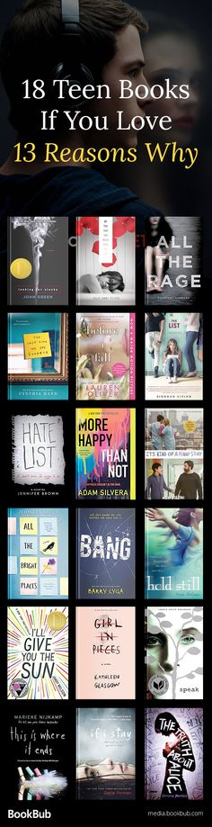 Great books for teens, both for girls and for boys. These books like 13 Reasons why are heartbreaking, life changing, and inspiring.