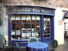 Love tea any time. Love Boston