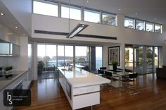 photo: Cliff House - Kitchen with Ocean View. - Cliff House - Kitchen with Ocean View.