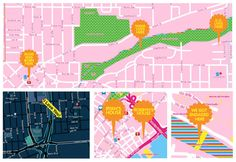 Candy Maps, Soft Cities