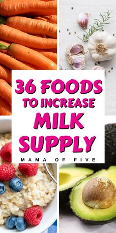 Eat these foods to increase breastmilk quickly. Great tips on what foods actually help increase your milk supply. Eat these superfoods and become a milk makin mama Foods That Increase Breastmilk, Foods Increase Milk Supply, Boost Milk Supply, Lactation Boosting Foods, Lactation Recipes, Lactation Foods, Food During Pregnancy, Breastfeeding Snacks, Breast Feeding
