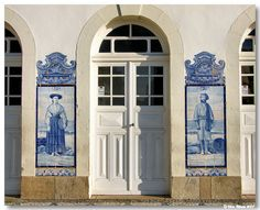 Tiles, AVEIRO - railways station detail #Portugal