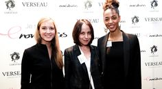 Sandra Merlière, Présidente des Enovatrices, Sarah Herz, Responsable des Activités Digitales de Condé Nast et Virginie Lentulus, Vice-Présidente des Enovatrices