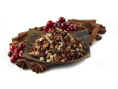Winter Berry Spice Herbal Tea. Sounds great for after a day in the cold, especially during holiday season