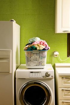 Using the cold setting on your washing machine could save you $75 or more annually—and, more important, prolong the life of your clothing and linens for many years. | Photo: Jae Rew/Digital Vision/Getty | thisoldhouse.com
