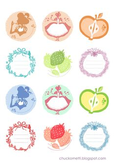 Jam Labels by ~chuckometti on deviantART