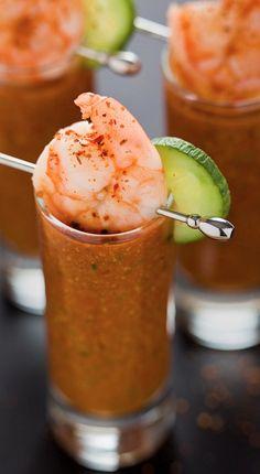 Gazpacho....Chilled Tomato Cucumber Soup