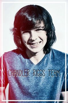 Our profile edit of Chandler Riggs in vk.