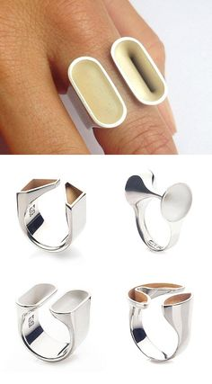 TheCarrotbox.com modern jewellery blog : obsessed with rings // feed your fingers!: August 2015