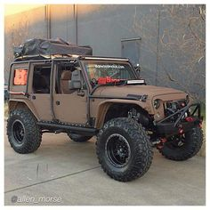 I have a Grand Cherokee and want to build it up like this Wrangler is.