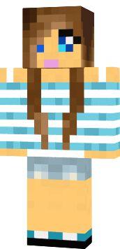 Best Minecraft Girl Skins Images On Pinterest Minecraft Girl - Skins para minecraft pe de rock