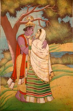 Radha - Krishna love and longing...