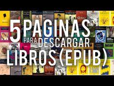 LAS 5 MEJORES PÁGINAS PARA DESCARGAR LIBROS GRATIS [ePub] - CleTutoz - YouTube