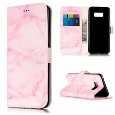 Fashion Pink Granite Marble Printed PU Leather Wallet Stand Flip Card Slot Phone Bag Cases For Samsung Galaxy S8 S7 S6edge S5 ** AliExpress Affiliate's buyable pin. Details on product can be viewed on www.aliexpress.com by clicking the image #PhoneFlipCases