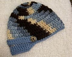 Free pattern: little brimmed hat for boys
